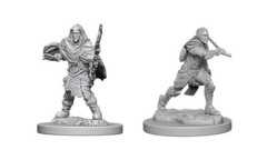 D&D Unpainted Minis - Elf Fighter (Male)