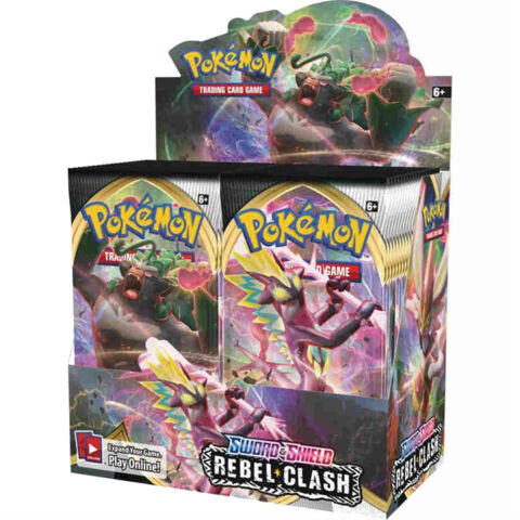 Sword & Shield - Rebel Clash Booster Box
