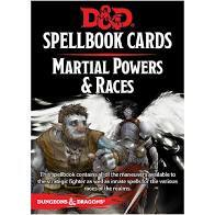 Dungeons And Dragons: Updated Spellbook Cards - Martial Powers & Races Deck