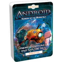 Genesys RPG: Adversary Deck - Androids, Drones,  and Synthetics
