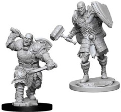 D&D Unpainted Minis - Goliath Fighter (Male)