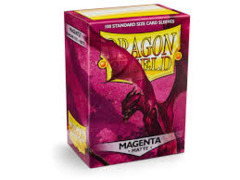Dragon Shield Sleeves - Matte Magenta (100ct)