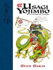 Usagi Yojimbo, 35 Years of Covers