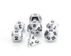 RPG Set - Shiny Silver w/ Black