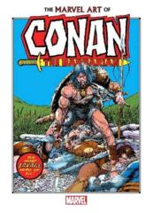 The Marvel Art of Conan the Barbarian (Oversize)