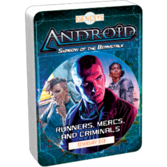 Genesys RPG: Adversary Deck - Runners, Mercs, and Criminals