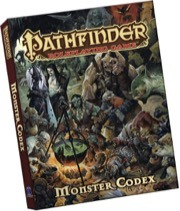Pathfinder Roleplaying Game: Monster Codex (Pocket Edition)