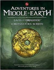 Dungeons and Dragons RPG: Adventures in Middle-Earth - Loremaster`s Screen