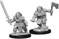 Pathfinder Battles Unpainted Minis - Female Dwarf Barbarian