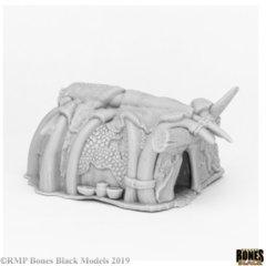 Reaper Bones Black: Runehorn Hut