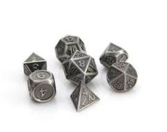 RPG Gothica Set - Battleworn Silver