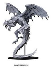 Pathfinder Battles Unpainted Minis - Gargantuan White Dragon