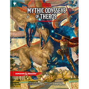 D&D 5th Edition: Mythic Odysseys of Theros (Hardover).