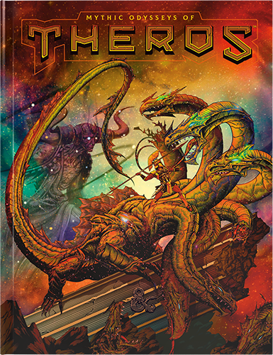 D&D 5th Edition: Mythic Odysseys of Theros, Alternate Cover (Hardcover)