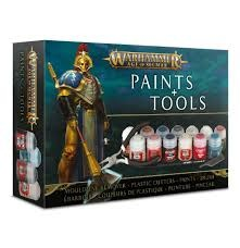 Warhammer Age of Sigmar: Paints & Tools