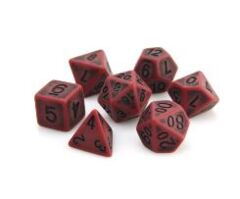 Die Hard 7pc Polyhedral: Blood Golem