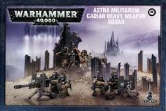 Astra Militarum Cadian Heavy Weapon Squad