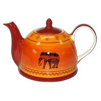 African Style Teapot
