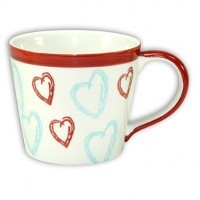 Fancy Hearts Mug