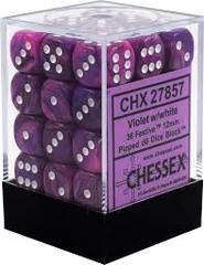 Chx27857 36d6 Festive Violet / White