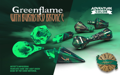 Wizard Set Greenflame & Burnished Bronze