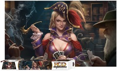 Ace Up Her Sleeve Playmat