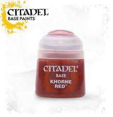 Citadel Base Paint: Khorne Red