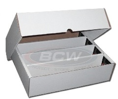 Card Storage Box (4 Columns w/Lid) - 3200 Card