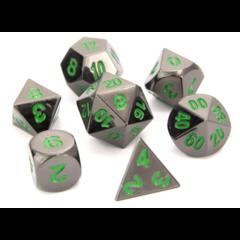 Die Hard RPG Set - Sinister Chrome w/ Green