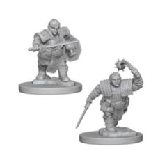 Nolzure's Marvelous Miniatures: Dwarf Fighter Female