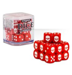 Warhammer Dice Cube: Red