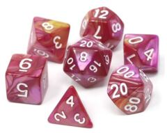 Die Hard 7pc Polyhedral: Cursed Rose