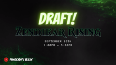 Zendikar Rising Draft