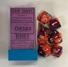 Gemini orange-purple/white chx30021