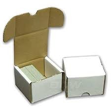 Card Storage Box - 200 Card