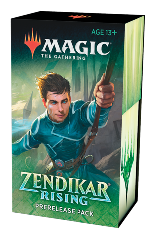 Zendikar Rising Prerelease Kit (prerelease at home)