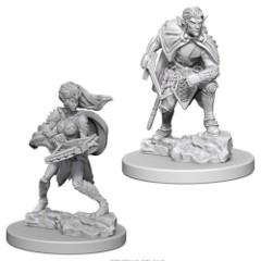 Nolzure's Marvelous Miniatures: Drow - 1 Male, 1 Female