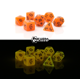 Die Hard 7pc, Glow in the Dark Orange
