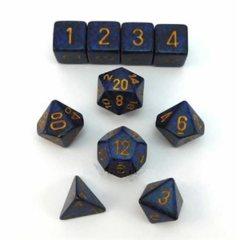 Koplow Speckled & Elemental Golden Cobalt 10pc