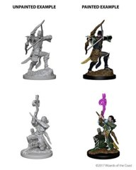 Nolzure's Marvelous Miniatures: Elf Bard, Male
