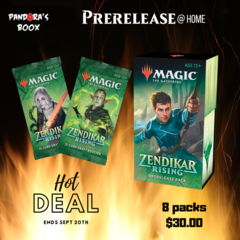 Zendikar Rising Prerelease Kit (prerelease at home)