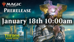 Theros Beyond Death Prerelease - Saturday Jan 18th 10:00am