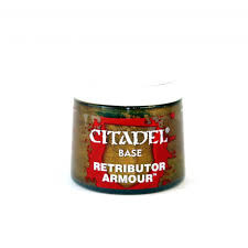Citadel Paint: Retributer Armor