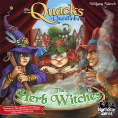 The herb Witches:  Quacks of Quedlinburg expansion