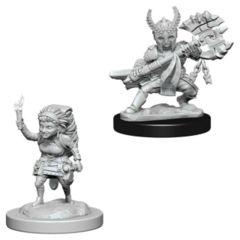 Nolzure's Marvelous Miniatures: Halfling Fighter Female