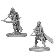 Nolzur's Marvelous Miniatures: Human Ranger female