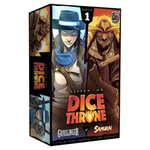 Dice Throne Season 2: Gunslinger V Samurai