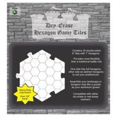 Dry erase Hexagon Game Tiles