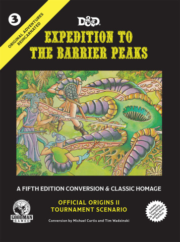 Expedition to The Barrier Peaks: 5E Conversion
