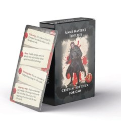 Critical Hit Deck for GM